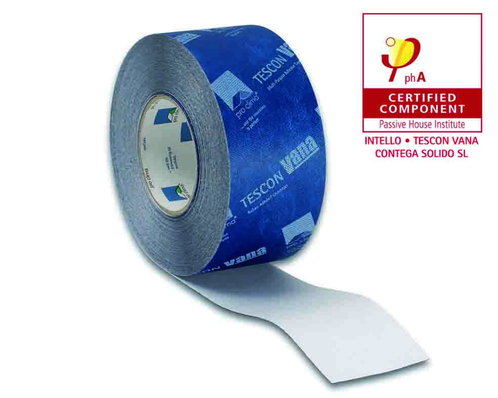 pro clima tape tescon vana Passive House Certified